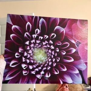 Other - purple flower painting